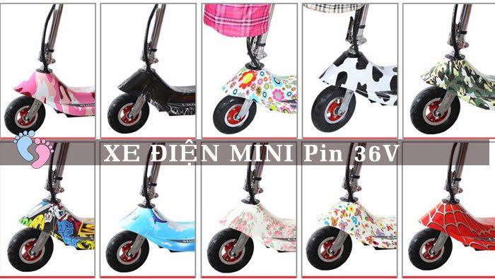 Xe điện Mini E-Scooter Pin Li-po 36V 8