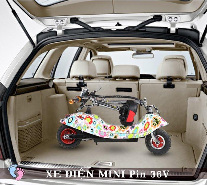 Xe điện Mini E-Scooter Pin Li-po 36V 4