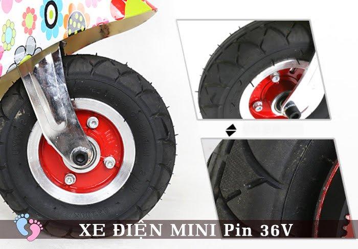 Xe điện Mini E-Scooter Pin Li-po 36V 6