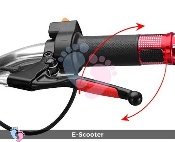 Xe điện mini E Scooter Bình ắc quy 24V 6