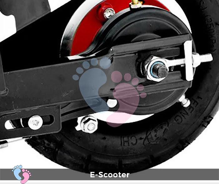 Xe điện mini E Scooter Bình ắc quy 24V 9