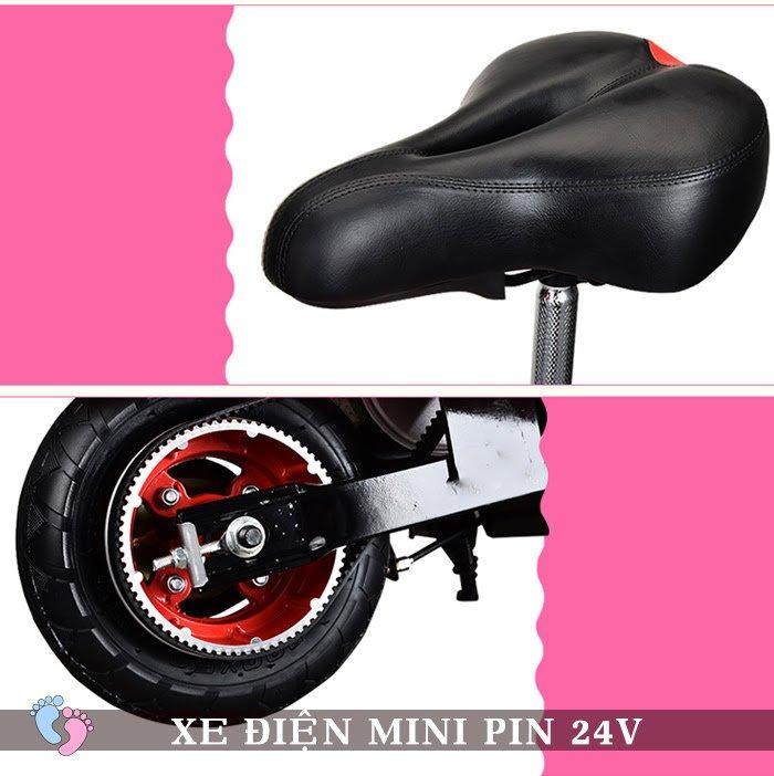 Xe điện Mini E-Scooter Pin Li-po 24V 12