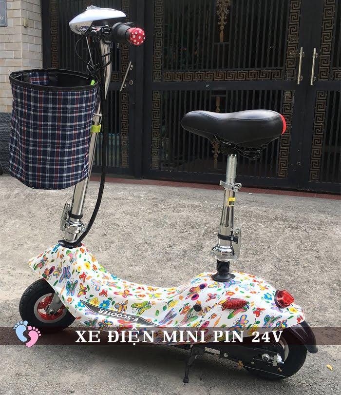 Xe điện Mini E-Scooter Pin Li-po 24V 2