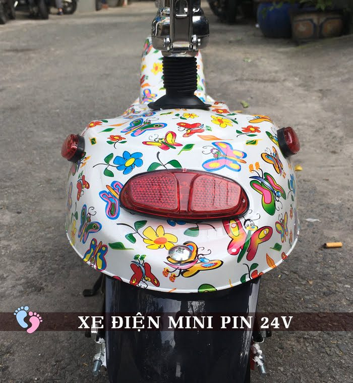 Xe điện Mini E-Scooter Pin Li-po 24V 5