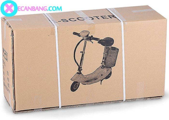 Xe điện E-Scooter mini dùng pin 36V có yên cho bé 7