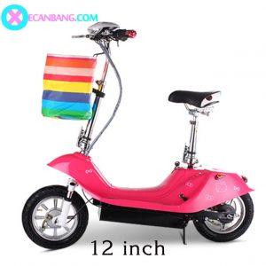 Xe điện E-Scooter mini 12 inch 24V (Dùng xích)