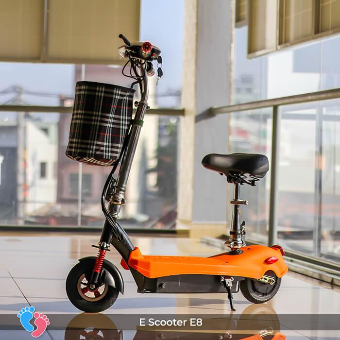 E-scooter Mini 8 inch E8 cao cấp 1