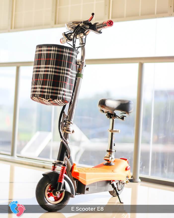 E-scooter Mini 8 inch E8 cao cấp 2