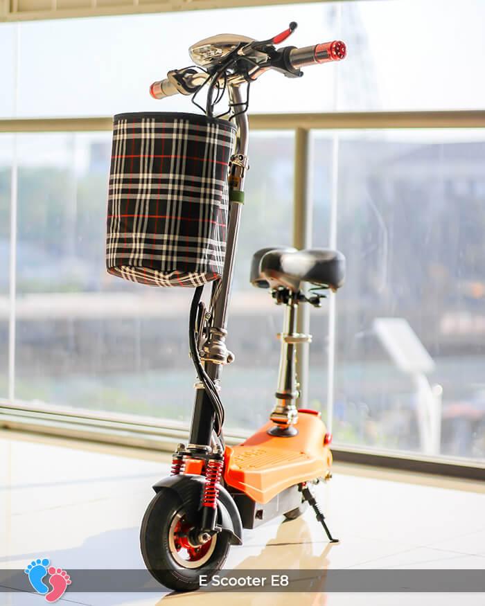 E-scooter Mini 8 inch E8 cao cấp 3