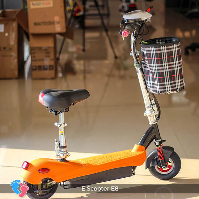 E-scooter Mini 8 inch E8 cao cấp 4