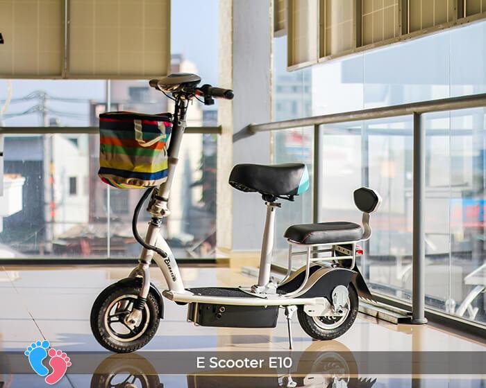 Xe điện E-scooter mini E10 bánh 10 inch 1