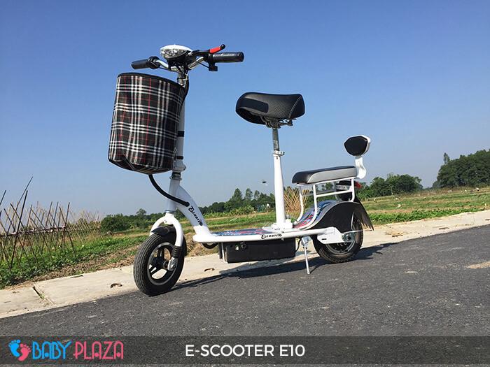 Xe điện E-scooter mini E10 bánh 10 inch 10