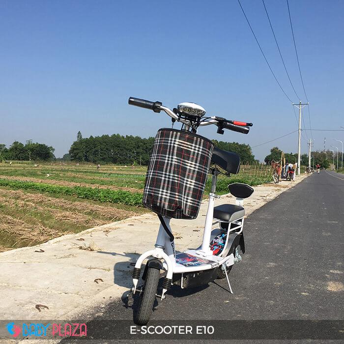 Xe điện E-scooter mini E10 bánh 10 inch 11