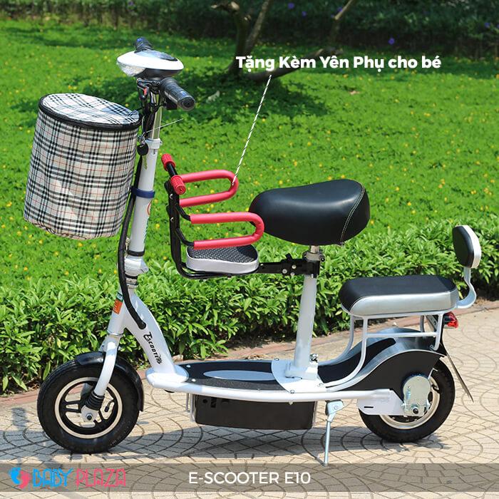 Xe điện E-scooter mini E10 bánh 10 inch 13