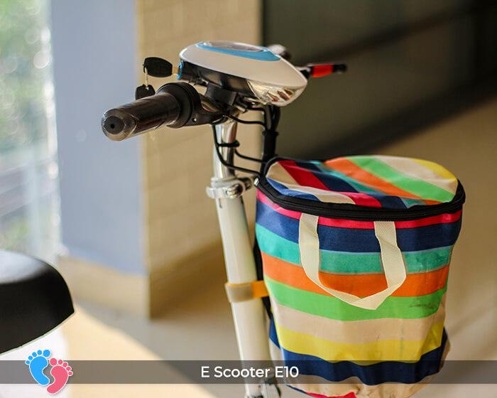 Xe điện E-scooter mini E10 bánh 10 inch 14