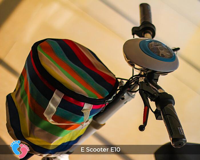 Xe điện E-scooter mini E10 bánh 10 inch 15