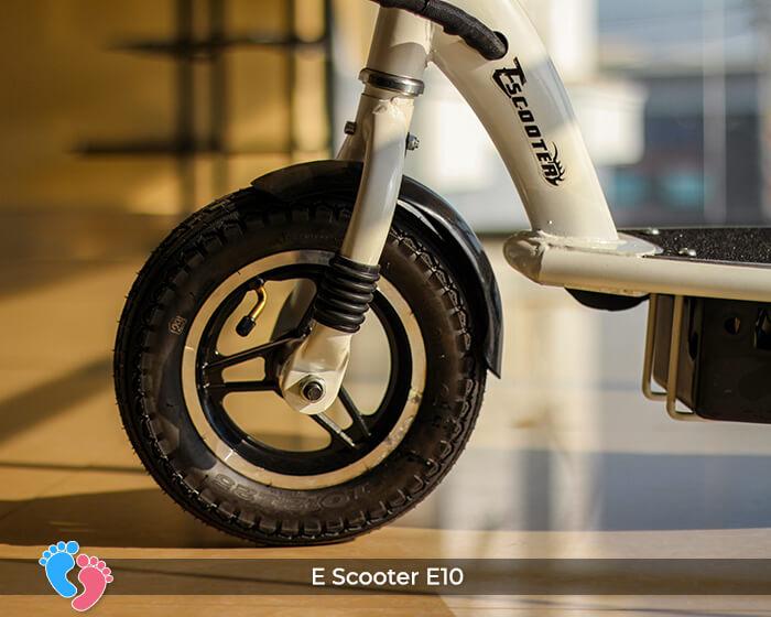 Xe điện E-scooter mini E10 bánh 10 inch 16