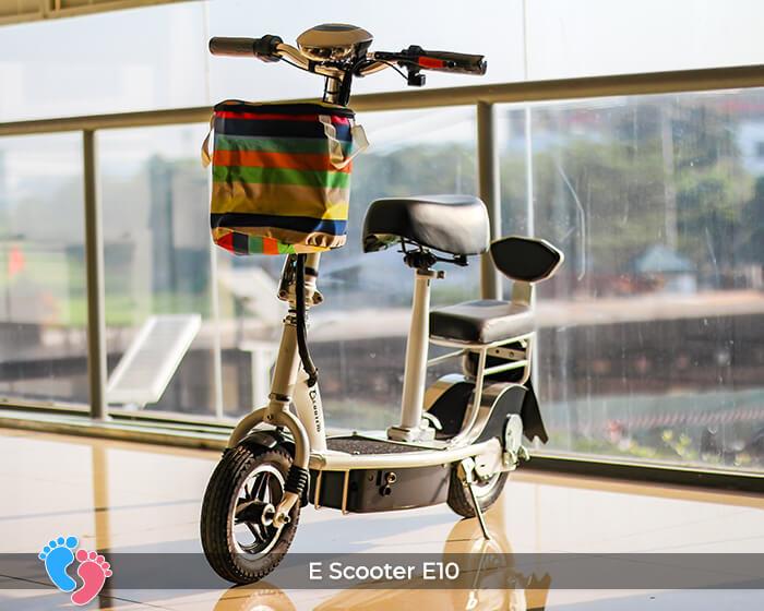 Xe điện E-scooter mini E10 bánh 10 inch 2