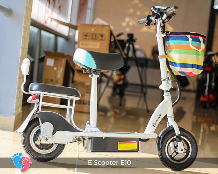 Xe điện E-scooter mini E10 bánh 10 inch 3