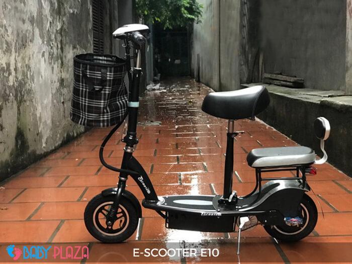 Xe điện E-scooter mini E10 bánh 10 inch 6