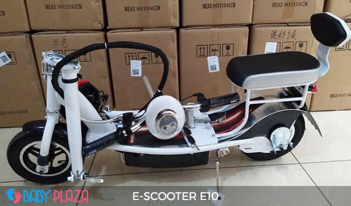 Xe điện E-scooter mini E10 bánh 10 inch 7
