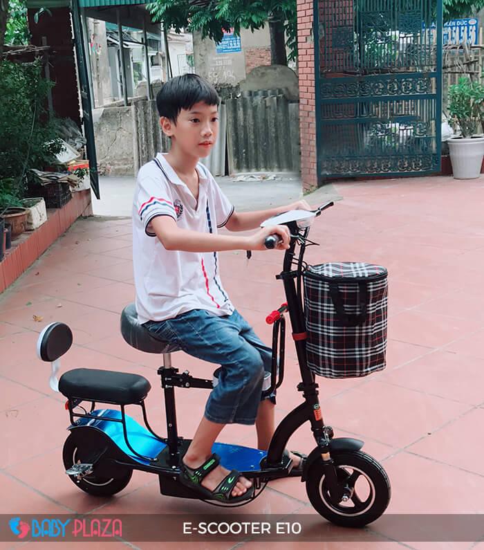 Xe điện E-scooter mini E10 bánh 10 inch 8