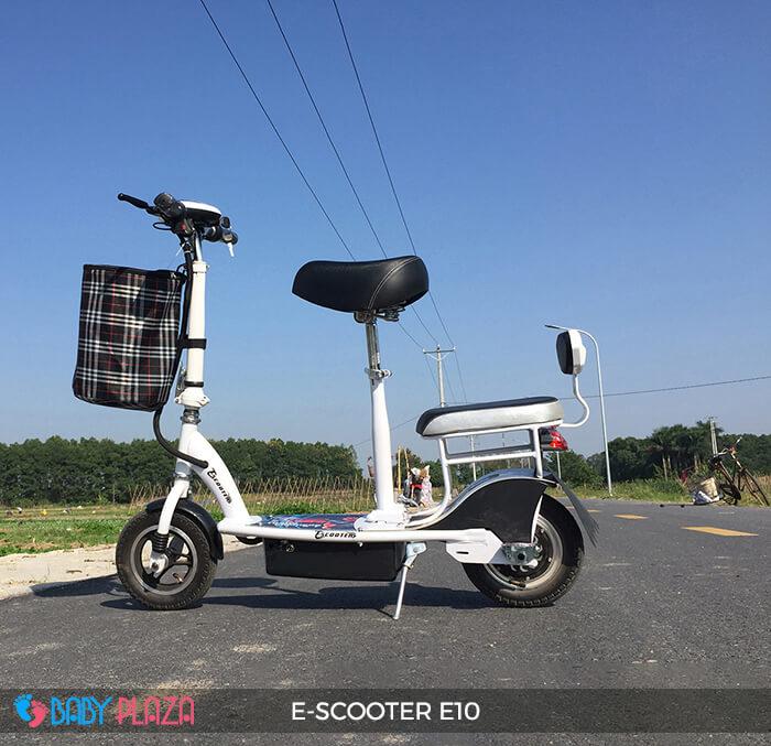 Xe điện E-scooter mini E10 bánh 10 inch 9