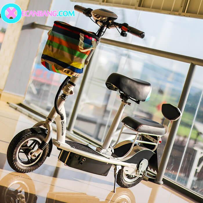 Xe điện E-scooter mini E10 bánh 10 inch