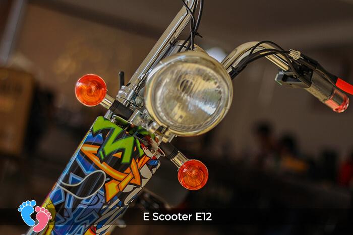 Xe điện mini bánh lớn 12 inch E12 7