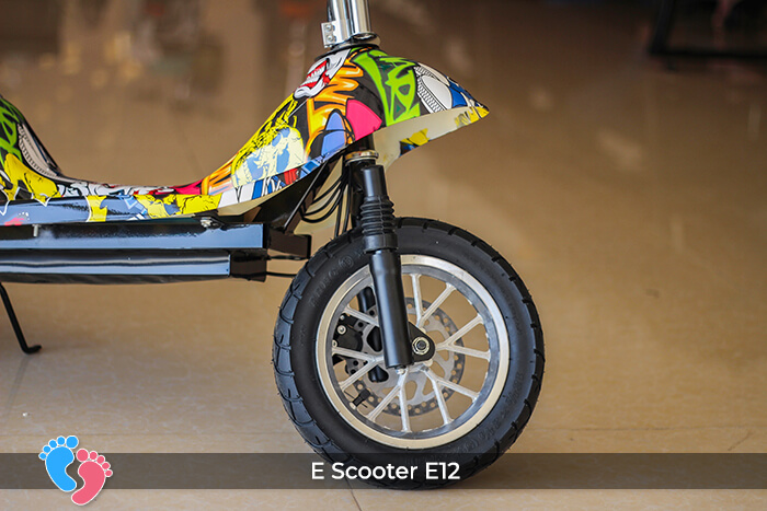 Xe điện mini bánh lớn 12 inch E12 9