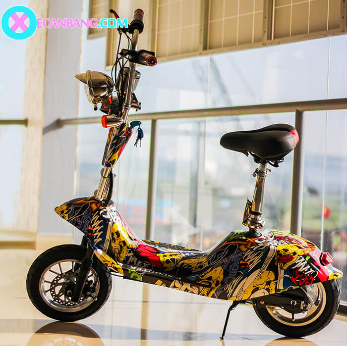 Xe điện mini bánh lớn 12 inch E12